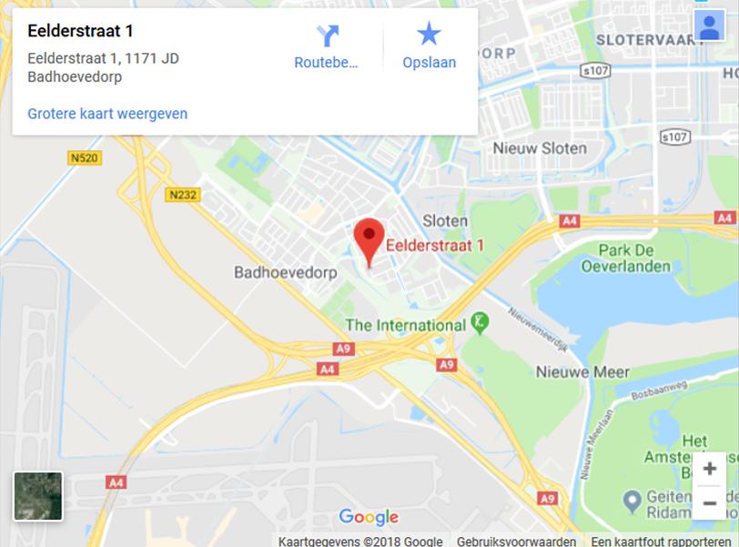 Psychotherapie-Amsterdam-Badhoevedorp-Google-Maps