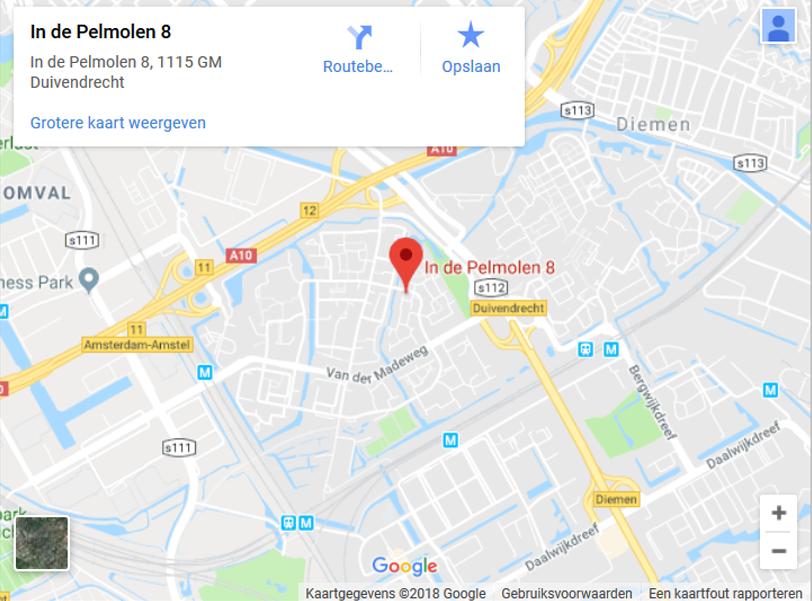 Psychotherapie-Amsterdam-Duivendrecht-Google-Maps